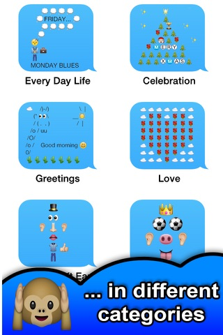 SMS Smileys Emoji Sticker PRO screenshot 3