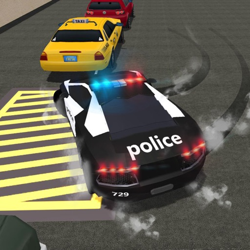 City Police Academy Driving School3D Simulation – Clear Extreme Parking Test 3D iOS App