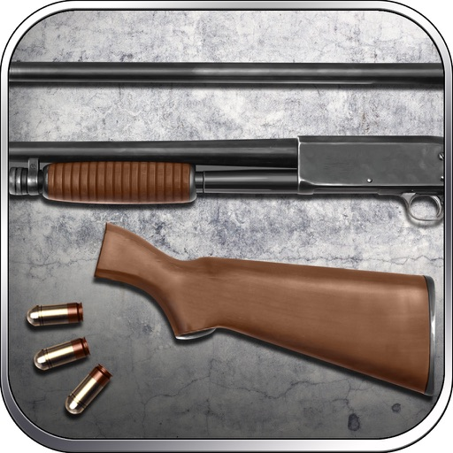 M37 Shotgun Simulate Builder and Shooting Game for Free by ROFLPlay iOS App