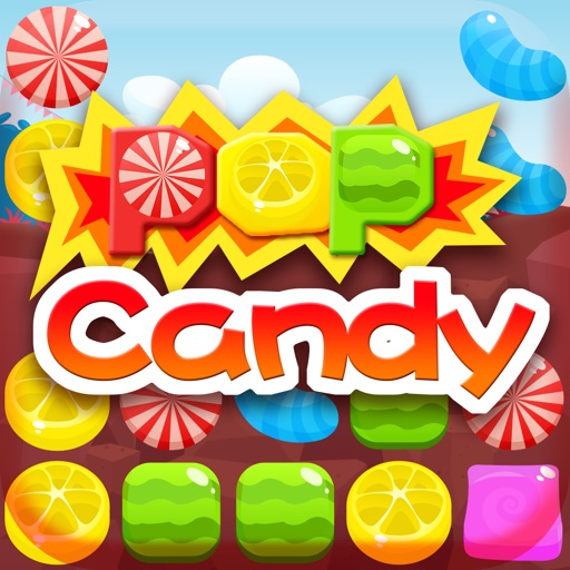 PopCandy - a good game for children iOS App