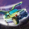 Flying SUV Driver Simulator 3D - Try to drive or fly SUV in our futuristic car simulator! hyundai sport suv