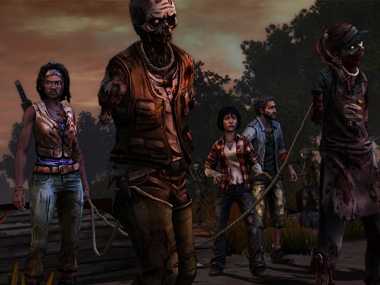 The Walking Dead: Michonne - A Telltale Miniseries для iPad