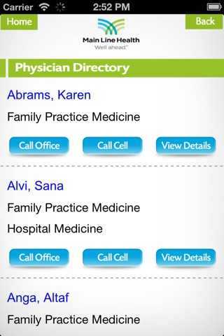 MLH Physician screenshot 3