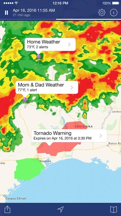 Screenshot #6 for NOAA Weather Radar.