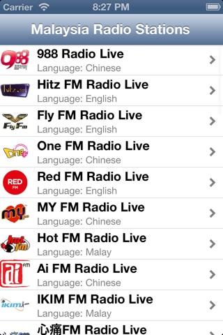 Malaysia Radio Live screenshot 1