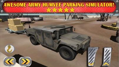 Screenshot of Army Humvee 3D Parking Simulator - Auto Parcheggio Giochi Gratis1