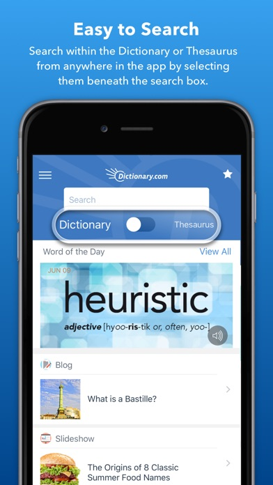 Dictionary.com Screenshot