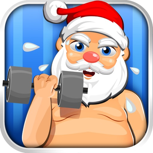 Santa Gets Fit for Christmas - running & fat jump-ing elf run games!