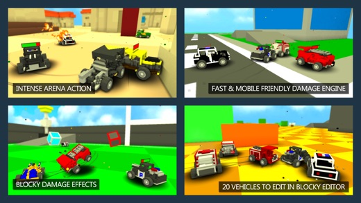 Blocky Demolition Derby Screenshot