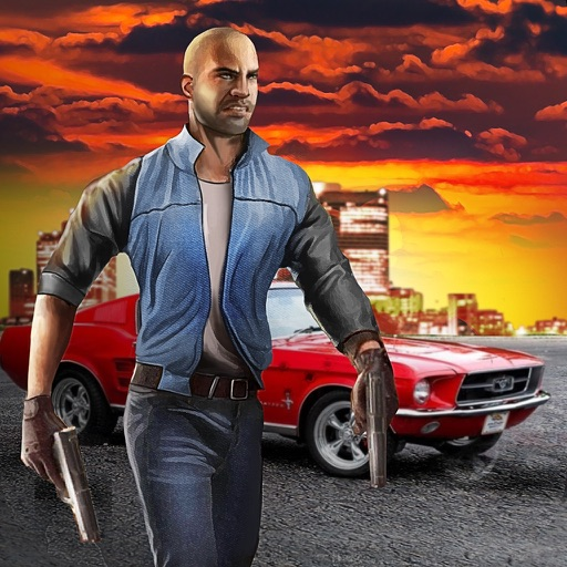 Vegas Crime Driver - Be a gangster, drive a car and fight with Vegas police! iOS App