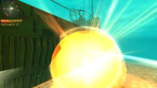 Torpedo Run - Sea on Fire Screenshot