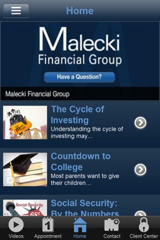 Malecki Financial Group screenshot 2