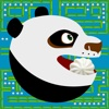 Pac Panda - kung fu man and monsters in 256 endless arcade maze