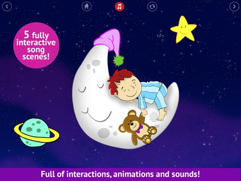 Bedtime is fun! - Get your kids to go to bed easily - Lite screenshot 1