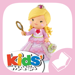 P'tite Fille – Rose joue à la princesse