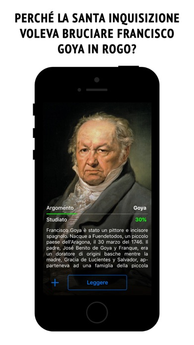 Screenshot of Goya - l'enciclopedia interattiva1