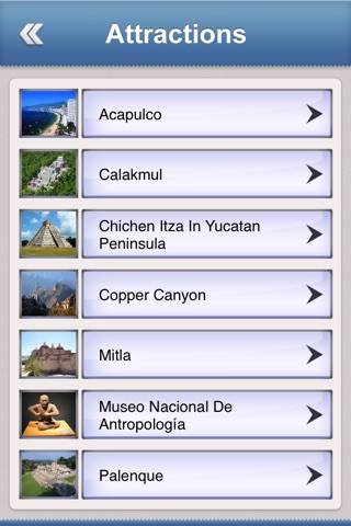 Mexico Tourist Guide screenshot 3