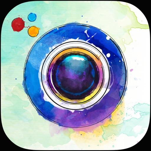 Photo Art Maker: Graffiti Creator & Watercolor Effect, Pencil Sketch, Drawing Effects! iOS App