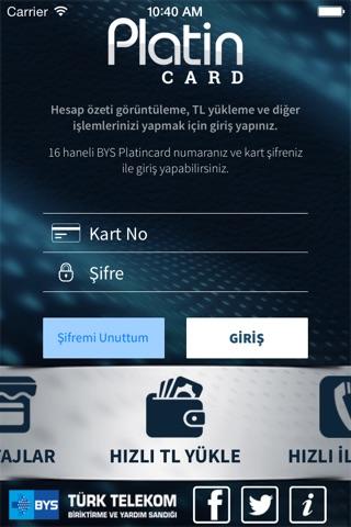 BYS PlatinCard screenshot 1