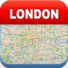 Londres Offline Map - Cidade Metro Airport & Travel Planner