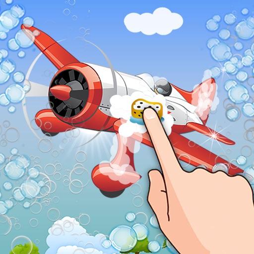 Aircraft Washing Simulation iOS App