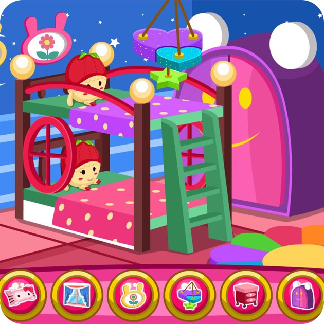 Twin baby room decoration game on the app store for Baby rooms decoration games