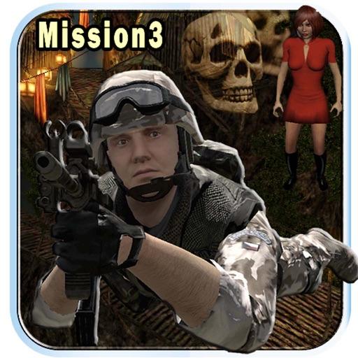 Commando Fantasy Horror Mission 3 : Rescue iOS App
