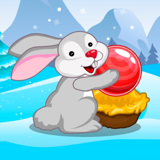 Bubble Shooter Easter Bunny - No Ads iOS App