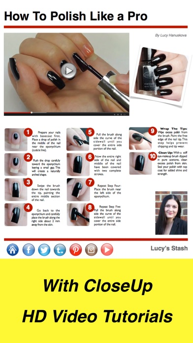 Nails Hq Magazine review screenshots