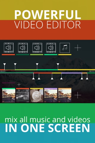 Quick Video Editor Pro - Montage Filters Best tools for video editing perfectly moments screenshot 1
