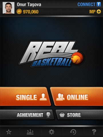 Real Basketball на iPad