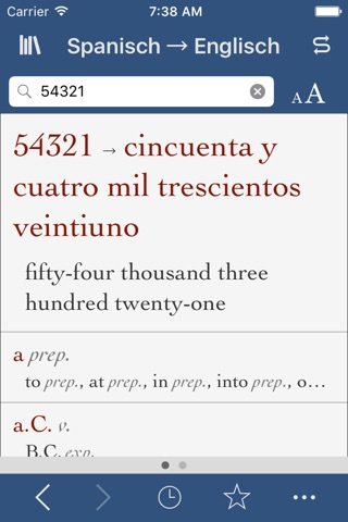 Spanish-English Translation Dictionary and Verbs screenshot 3