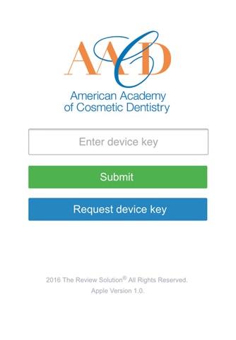 American Academy of Cosmetic Dentistry screenshot 1