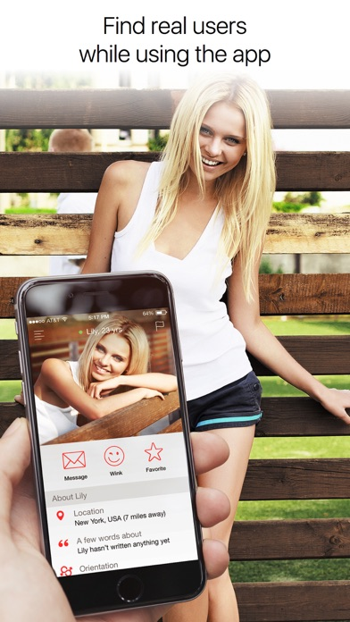 Screenshot #1 for QuickFlirt – dating app to chat and meet locals