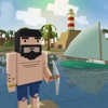 Blocky Island Survival 3D Full - Craft tools on the lost island, hunt for animals, explore and try to escape!