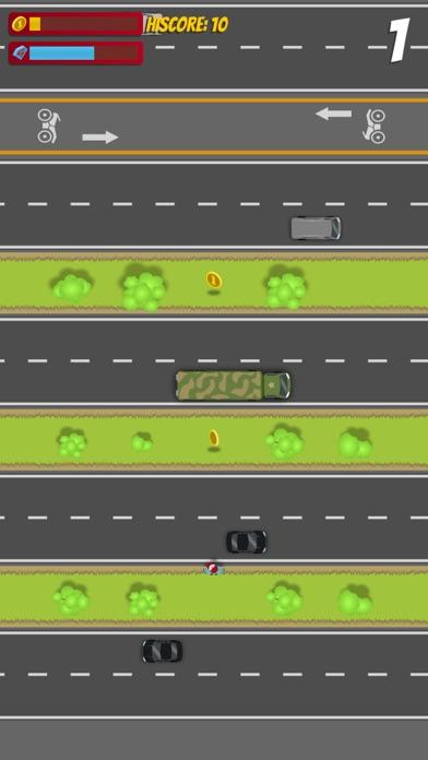 Dodgy Traffic - Cross Infinite Roads and Avoid Cars Screenshot