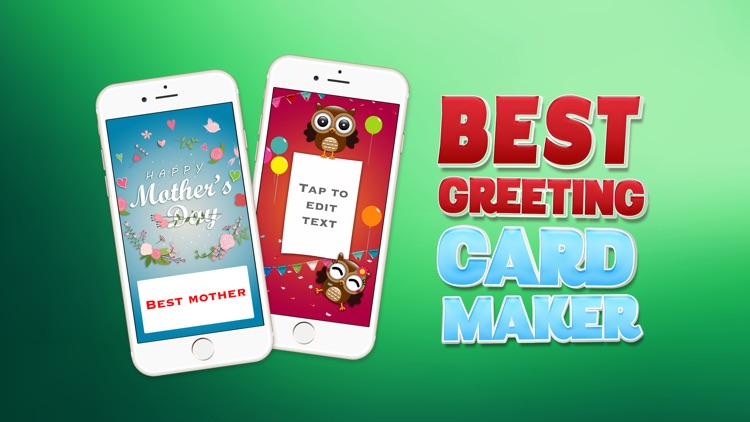 Best greeting card maker u create cards for birthday christmas