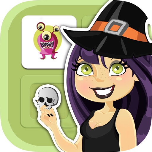 Halloween memory game: Learning game for kids iOS App