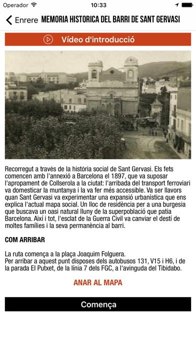download Rutes Sarrià - Sant Gervasi apps 1