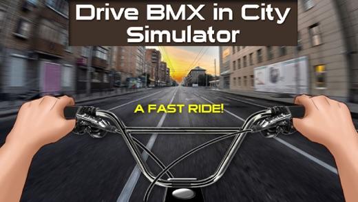 Водить BMX в Городе Симулятор Screenshot