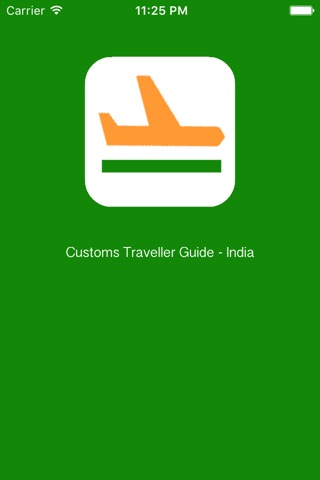 Customs Traveller Guide India screenshot 1