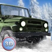 Winter Offroad UAZ Simulator 3D Full - Drive the Russian truck!