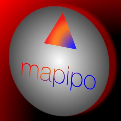 mapipo - 無料カーナビ・徒歩ナビアプリ-