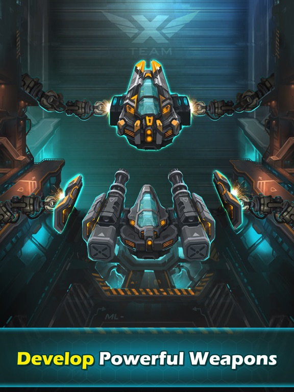 Игра XTEAM - SF Clicker RPG
