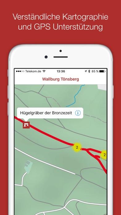 Wallburg Tönsberg Screenshot