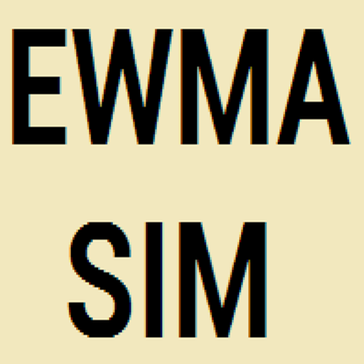 ARL simulator EWMA control chart
