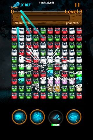 Owl night - Crush game screenshot 2