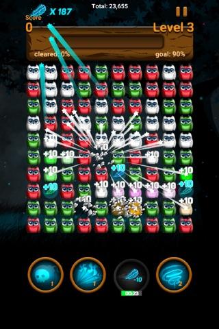 Owl night - Crush game screenshot 2