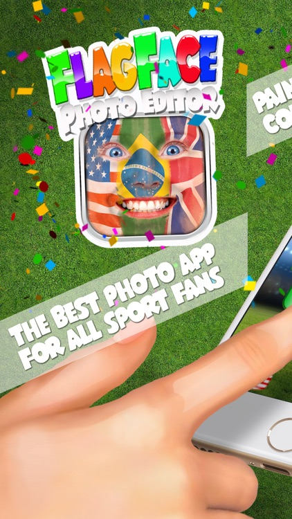Flag face photo editor 2016 best fan booth to paint yourself in flag face photo editor 2016 best fan booth to paint yourself in colors of your solutioingenieria Image collections