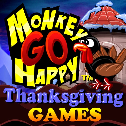 monkey go happy thanksgiving games par robin vencel